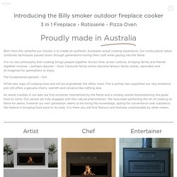 Fireplace cookers - The Wood Fired Co