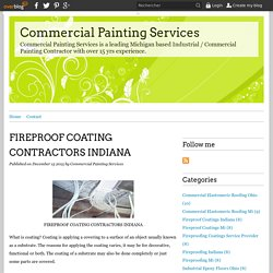 FIREPROOF COATING CONTRACTORS INDIANA