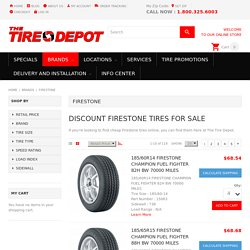 Firestone Tires For Sale