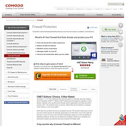 Free Firewall Comodo (SO-Windows)