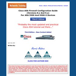 Cisco ASA Firewall Fundamentals 3rd Edition - Harris Andrea