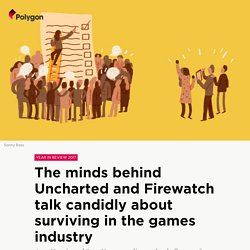 The minds behind Firewatch and Uncharted discuss canceled games and the indie vs. AAA debate