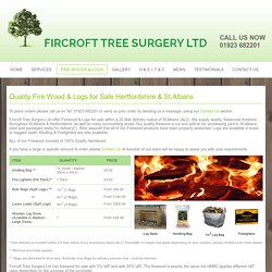 Firewood & Logs for sale Hertfordshire