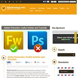 Adobe Fireworks: Tutorials