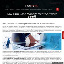 Law Firm Case Management Software Doesn't Have To Be Hard