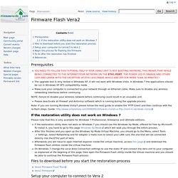 Firmware Flash Vera2