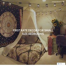 First Rate Decor For Small Size Bedrooms
