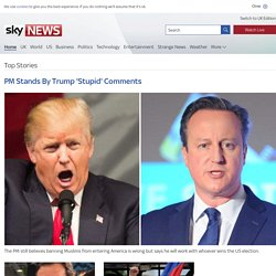 Sky News, First for Breaking News, Latest News and Video News from the UK and around the World