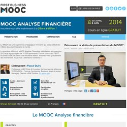 FIRST BUSINESS MOOC - ANAFI