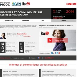 FIRST BUSINESS MOOC - RUE89