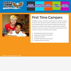 First Time Day Campers For Kids