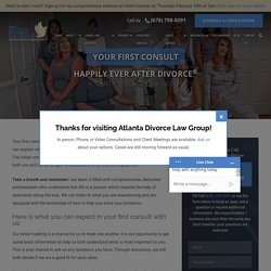 Your First Consult - Atlanta Divorce Law Group