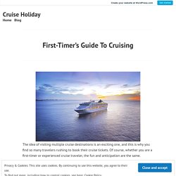 Cruising Guide If you Travel for First Time