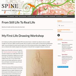 My First Life Drawing Workshop — SPINE ONLINE