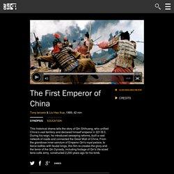 First Emperor of China ,The by Tony Ianzelo, Liu Hao Xue
