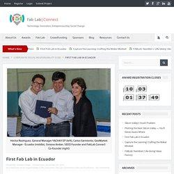 First Fab Lab in Ecuador