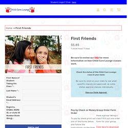 First Friends Online Class