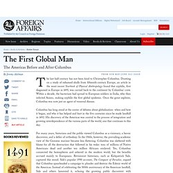 The First Global Man