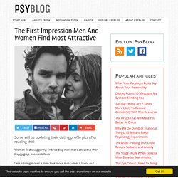 The First Impression Men And Women Find Most Attractive