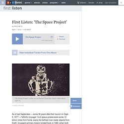 First Listen: 'The Space Project'