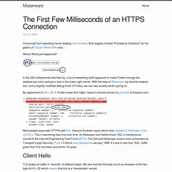 The First Few Milliseconds of an HTTPS Connection