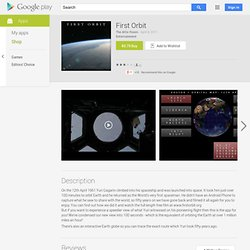 First Orbit - Android Market