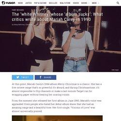 First reviews of Mariah Carey