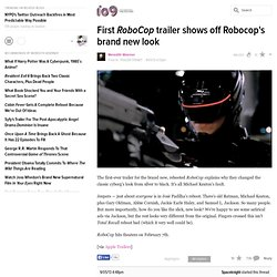 First RoboCop trailer shows off Robocop's brand new look