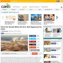 First Tar Sands Mine On U.S. Soil Approved in Utah