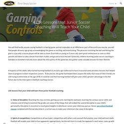 First Steps Soccer - Junior Soccer Coaching