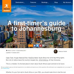 A First-timer's Guide To Johannesburg