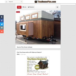 First Tiny House with an RV Slide-out Feature?