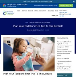 Your kid's first tooth? Get their first Dental Appointment!