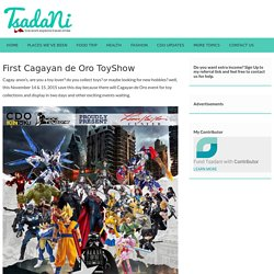 First Toy show event in Cagayan de Oro