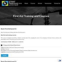 First Aid Training and Courses in South Africa