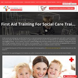 First Aid Training For Social Care Training