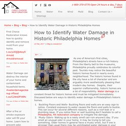 Water Damage Restoration Philadelphia PA