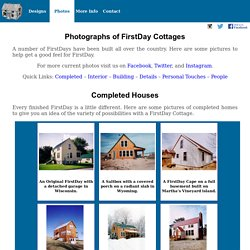Photos of FirstDay Cottage House Kits For Owner Builders
