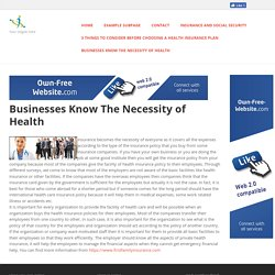 firstfamilyinsurance - Businesses Know The Necessity of Health
