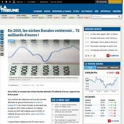 En 2015, les niches fiscales coûteront... 72 milliards d'euros!
