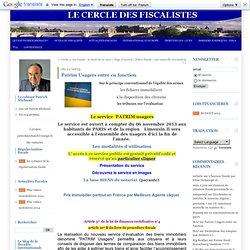 Evaluation : les fichiers immobiliers à la disposition des citoyens : Avocat fiscaliste Paris >ancien inspecteur des impots> le cercle des fiscalistes > avocat fiscaliste >avocat droit fiscal
