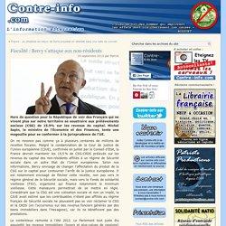 Fiscalité : Bercy s'attaque aux non-résidents