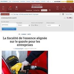 La fiscalité de l'essence alignée sur le gazole pour les entreprises