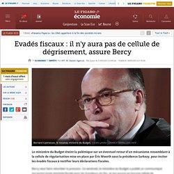 Evadés fiscaux : il n'y aura pas de cellule de dégrisement, assure Bercy
