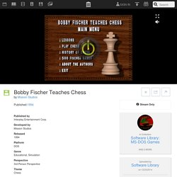 Bobby Fischer Teaches Chess : Mission Studios : Free Streaming