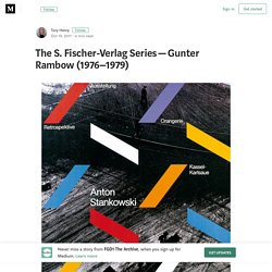The S. Fischer-Verlag Series — Gunter Rambow (1976–1979)