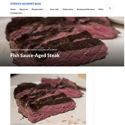 Fish Sauce-Aged Steak