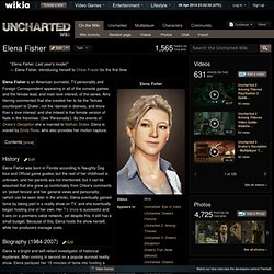 Elena Fisher - Uncharted Wiki - The Uncharted encyclopedia that anyone can edit