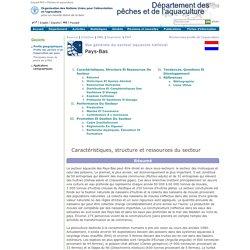 FAO Fisheries & Aquaculture - Vue générale du secteur aquacole national - Pays-Bas