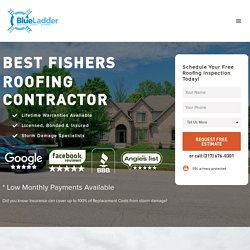 #1 Best Fishers Roofing Company - 5 Star Reviews - Lifetime Warranties